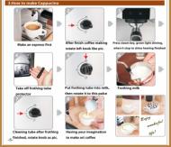 Instruktion till Espressomaskin Cappuccino